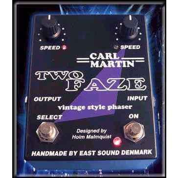 Carl Martin's Two Faze Phaser Pedal