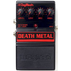 DigiTech DDM Death Metal™ Metal Distortion Pedal Pedals Digitech www.stevesmusiccenter.net
