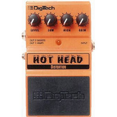 DigiTech DHH Hot Head™ Distortion Pedal Pedals Digitech www.stevesmusiccenter.net