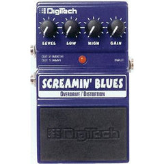 DigiTech DSB Screamin' Blues Overdrive / Distortion Pedal Pedals Digitech www.stevesmusiccenter.net
