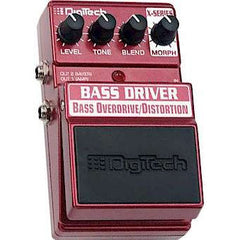 DigiTech XBD X-Series Bass Driver™ Bass Overdrive/Distortion Pedals Digitech www.stevesmusiccenter.net