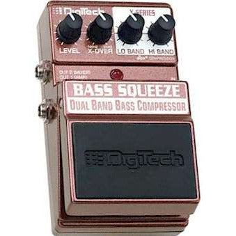 DigiTech XBS X-Series Bass Squeeze™ Dual Band Bass Compressor