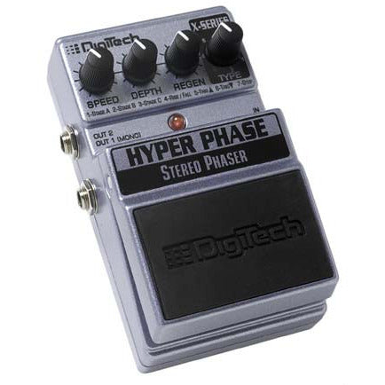 DigiTech X-Series Hot Rod Distortion stompbox delivers powerful, but smooth rock distortion. Features a huge range of different distortion types that can be morphed into different combinations as you rotate the exclusive Distortion Morph knob. This gi