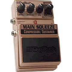 DigiTech XMS X-Series Main Squeeze™ Compressor/Sustainer Pedals Digitech www.stevesmusiccenter.net