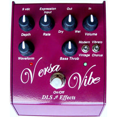 DLS Versa Vibe Vibrato and Chorus Pedal Pedals DLS www.stevesmusiccenter.net