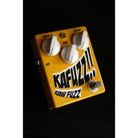 Dr. No Kafuzz Fuzz Pedal (Original Graphic)