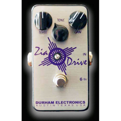 Durham Electronics Zia Drive Tight, Low Compression Overdrive Pedal Designed for Rhythm Guitar
