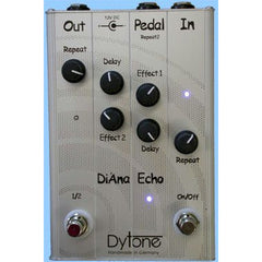 Dytone Di' Ana Echo Digital Echo with two presets Pedals Dytone www.stevesmusiccenter.net