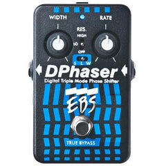 EBS DPhaser Triple Mode Phase Shifter Pedals EBS www.stevesmusiccenter.net