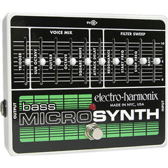 Electro-Harmonix Bass Micro Synthesizer Analog Synth for Bass Guitar Pedals Electro-Harmonix www.stevesmusiccenter.net