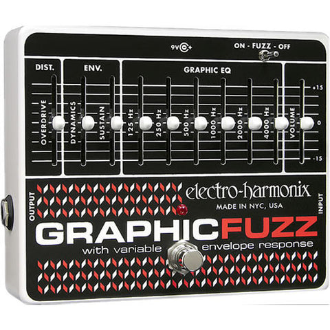 Electro-Harmonix Graphic Fuzz EQ / Distortion / Sustainer