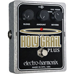 Electro-Harmonix Holy Grail Plus Variable Reverb Pedals Electro-Harmonix www.stevesmusiccenter.net