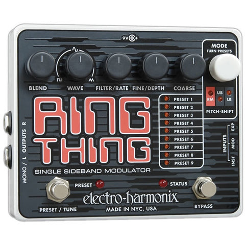Electro-Harmonix Ring Thing Single Sideband Ring Modulator
