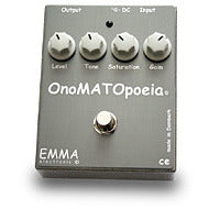 EMMA OnoMATOpoeia OM-1 Booster/Overdrive Pedal Pedals EMMA www.stevesmusiccenter.net