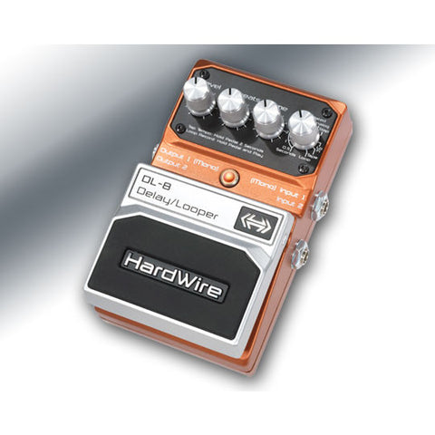 HardWire DL-8 Delay Looper by DigiTech