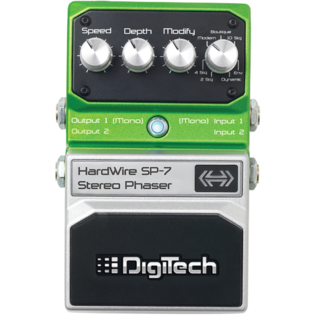 HardWire SP-7 Stereo Phaser by DigiTechHardWire SP-7 Stereo Phaser by DigiTech