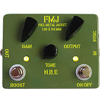 Homebrew Electronics Full Metal Jacket Mosfet-based Distortion Pedal