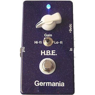 Homebrew Electronics Germania Treble Booster Older-Single Switch Version