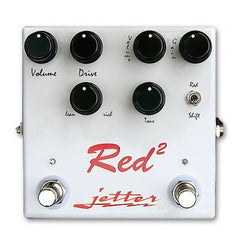Jetter Red Square Pedals Jetter www.stevesmusiccenter.net