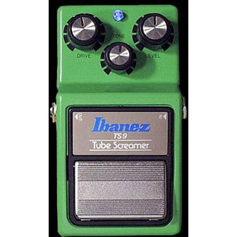 Keeley TS-9 Mod Plus BLUE LED Modified Ibanez Tube Screamer Overdrive with Blue LED