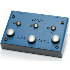 Lehle 1@3 SGoS Switcher Switcher for one instrument to 3 amps Second Generation Switcher Lehle www.stevesmusiccenter.net