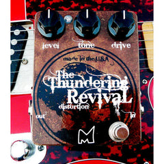 Menatone Thundering Revival Distortion Pedals Menatone www.stevesmusiccenter.net