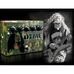 MXR Dime Distortion (DD-11) Pedals MXR www.stevesmusiccenter.net