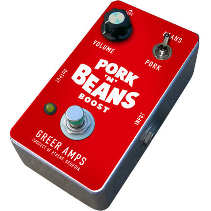Nick Greer Pork N Beans Germanium Treble Boost Pedal