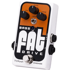 Pigtronix Bass FAT Drive Pedals Pigtronix www.stevesmusiccenter.net