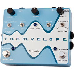 Pigtronix Tremvelope Envelope Modulated Tremolo Pedals Pigtronix www.stevesmusiccenter.net