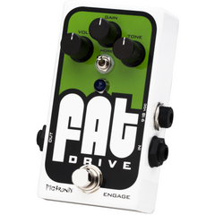 Pigtronix FAT Drive Tube Sound Overdrive Pedals Pigtronix www.stevesmusiccenter.net