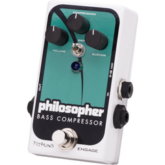 Pigtronix Philosopher Bass Compressor Pedals Pigtronix www.stevesmusiccenter.net