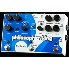 Pigtronix Philosopher King Polyphonic Amplitude Synthesizer Pedals Pigtronix www.stevesmusiccenter.net