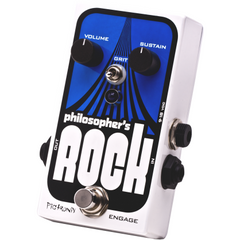 Pigtronix Philosopher's Rock Compressor Sustainer with Germanium Distortion Pedals Pigtronix www.stevesmusiccenter.net