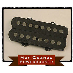 Rio Grande Muy Grande Powerbucker Humbucking Pickup for Bass (Neck) (MGPBNB - Black)