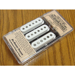 Rio Grande Pickups Bigtop Strat Set (White) Muy Grande bridge/Halfbreed middle/Halfbreed neck