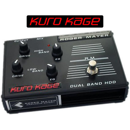Roger Mayer Kuro Kage Dual Band Spitfire and Mongoose Roger Mayer Synergy Series