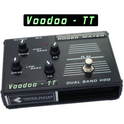 Roger Mayer Voodoo-TT Dual Band Voodoo-1 and Voodoo-Boost Roger Mayer Synergy Series