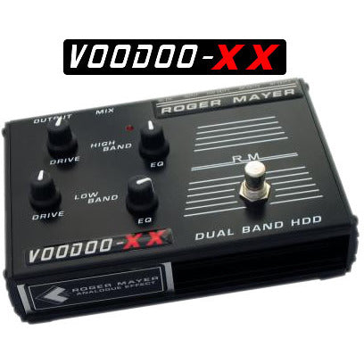 Roger Mayer Voodoo-XX Dual Band Voodoo-1 and Voodoo-Bass Roger Mayer Synergy Series