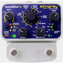 Soundblox 2 Stingray Multi-Filter SA224 Pedals Soundblox www.stevesmusiccenter.net