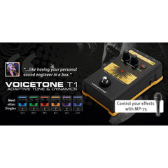 TC Helicon Voicetone T1 Vocal Effects TC Helicon www.stevesmusiccenter.net