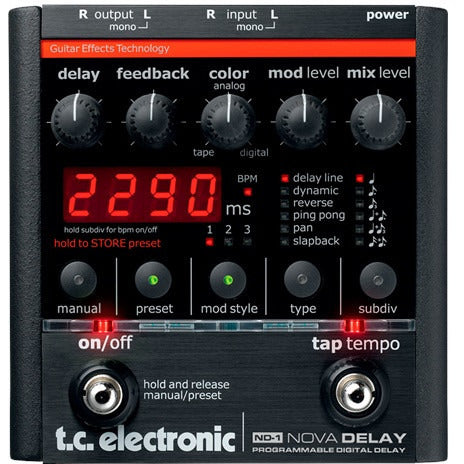 TC Electronics ND-1 Nova Delay