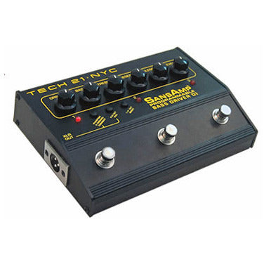 Tech 21 Sansamp Bass Driver Programmable 3 channel DI