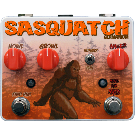 Tortuga Effects Sasquatch Germanium Fuzz