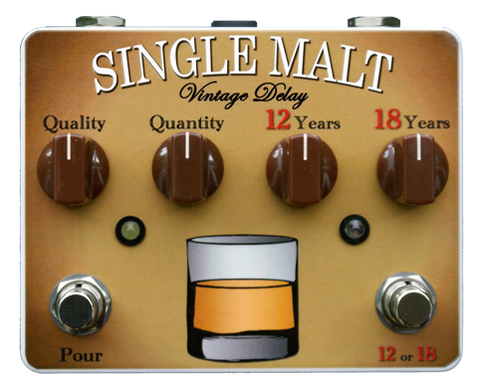 Tortuga Effects Single Malt Delay and Echo