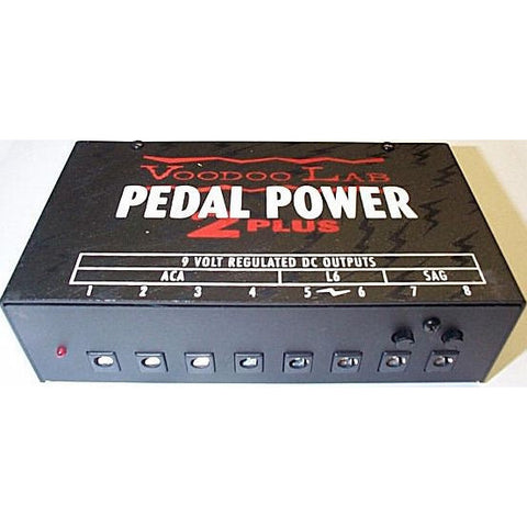 Voodoo Lab Pedal Power 2 Plus Now powers Boss Twin Pedals, including the Boss DD-20