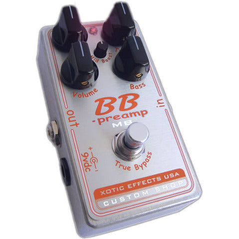 Xotic BBP-MB Xotic BB Preamp with Mid-Boost Knob From the Xotic Custom Shop