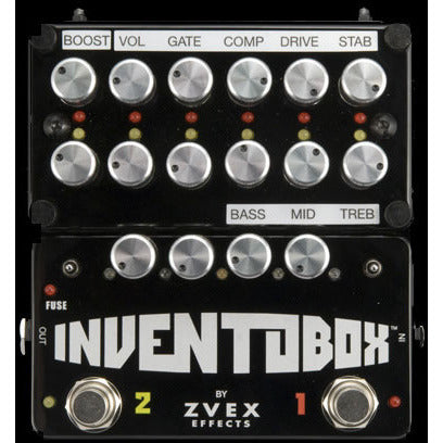Z. Vex Inventobox (Zvex) Fully assembled with Fuzz Factory™, tone stack, and SHO™ modules