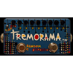 Z. Vex Tremorama (Zvex) Eight-stage sequencer-controlled tremolo Pedals ZVEX www.stevesmusiccenter.net