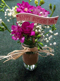 Mother's Day vase/ jar arrangements